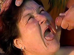 Fat mature blowjob and fuck video tube porn video