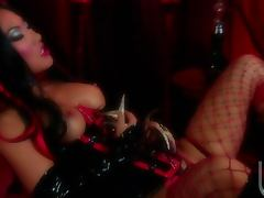Randy Slutty Asian Asa Akira Fucked in the Ass in Sexy Outfit