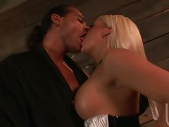 Cock Hungry Blonde Sucking Like Mad With Facial