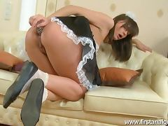 Teen Babe Grace is a Very Horny Maid