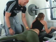 Foxy Loretta Loren Wants To Get Fucked Hard By Her Gym Instructor