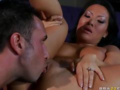 Horny Asian Beauty Asa Akira is a An Anal Cheating Wife tube porn video