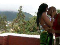 Stunning Latina Hottie Loves Taking Rough Dick