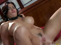 Spanish Pornstar Rebeca Linares Handling a Big Cock With Expertise porn tube video