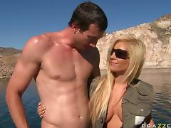 Busty Beauty Tasha Reign Gets Her Shaved Pussy Fucked after Fishing Trip porn tube video
