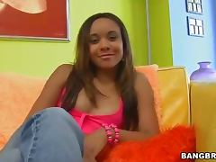 Sex Crazed Brunette Knows It all Comes to Cock