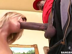 Hardcore Interracial Sex With A Hot Blonde And A Hard Cock