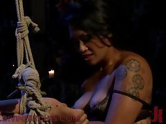 Hot Babes Team Up For A Femdom Scene With