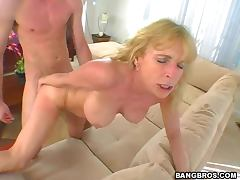 Aged, Aged, Big Tits, Blonde, Blowjob, Cowgirl