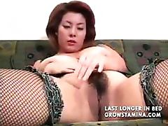 Japanese MILF Dildoes For Multiple Orgasms tube porn video