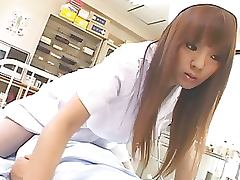 Super Naturally Busty Asian Nurse Hitomi Tanaka Fucks a Patient