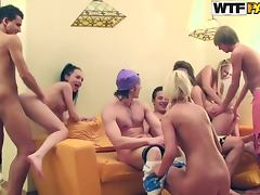 College Orgy With Horny Chick With Really Wet Pussies tube porn video