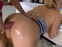 Krissy Lynn gets a Rimjob and then Anally Fucked tube porn video