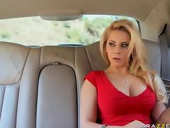 Car, Babe, Big Cock, Big Tits, Blowjob, Car