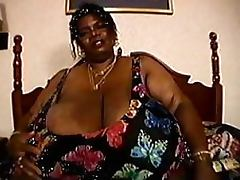 Curvaceous BBBW Mature Norma Stitz Massages Her Humongous Natural Rack tube porn video