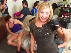 Hotties Natasha Amy Katie And Brooke Enjoy A Full Party Fuck tube porn video