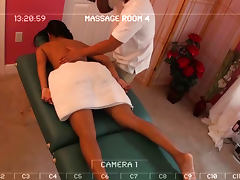 Two Different Shots Of The Same Happy Ending Massage