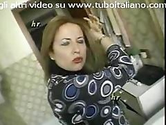 Busty Italian Mature Loves Taking Cocks Up Her Ass and Hairy Pussy tube porn video