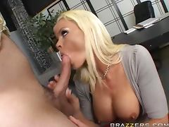 Seductive Rhylee Richards Gets An Advance By Giving Her Boss A Hard Fuck porn tube video