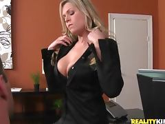 Sexy Attorney Darcy Tyler Rides Her Client's Hard Cock tube porn video