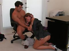 Office Banging With the Busty Babe Devon