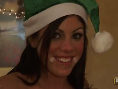 One Of Santa's Naughty Elves tube porn video
