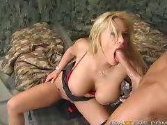 Army, Army, Big Cock, Bitch, Blonde, Blowjob