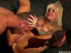 Janine Lindemulder tattooed fuck slut