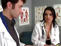Doctor roughly fucks patient