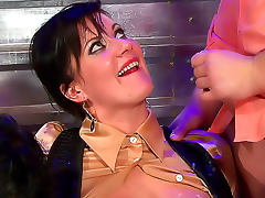 Hot Euro women fucking hard in
