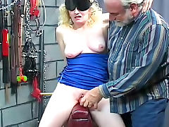Blindfolded, Blindfolded, Blonde, Cougar, Mature, Mom