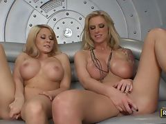 Hot Lesbian Scene With The Busty Blondes Madison Ivy And Brooke Banner