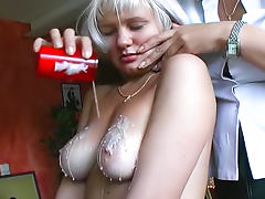Melons, Big Tits, Blonde, Boobs, Brunette, Femdom