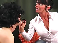 Carmen is an abusive femdom goddess porn tube video