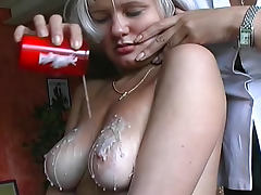 Pain and suffering for sexy blonde