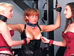 Homemade BDSM with several submissive cuties tube porn video