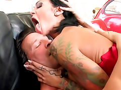 Pierced Angelina Valentine is a fuck slut tube porn video