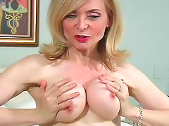 Nina Hartley commands you to masturbate