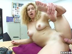 Curly hair milf hardcore