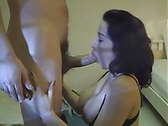 Exquisite Anal Brunette Sucks and Fucks a Huge Cock In Sexy Stockings porn tube video