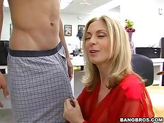 Intense Pussy Pounding Sex With The Insatiable Milf Nina
