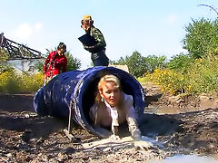 Well dressed women do military training tube porn video