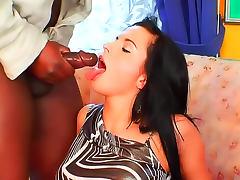 Interracial cock loving cunts