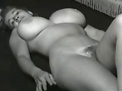 Vintage Porn Clip of a Hot Blonde With Huge Knockers and a Hairy Pussy porn tube video