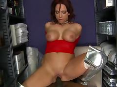 Big Assed Anal MILF Nicki Hunter Gets Interracially Fucked In Boots