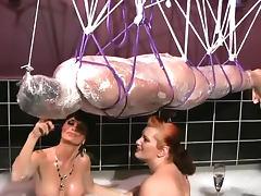 Bath, Bath, BDSM, Femdom, Kinky, Latex
