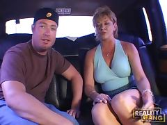 Mature in his car for reality porn