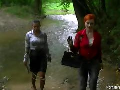 Catfight, Brunette, Catfight, Clothed, Fetish, Outdoor