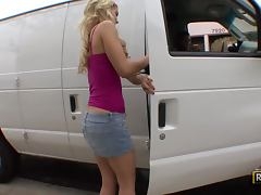 Fucking The Hot Blonde Misti Love In The Back