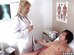Doctor Blonde has only one method of curing her patients